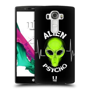 Plastové pouzdro na mobil LG G4 HEAD CASE ALIENS PSYCHO