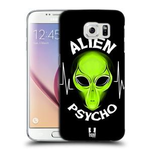 Plastové pouzdro na mobil Samsung Galaxy S6 HEAD CASE ALIENS PSYCHO