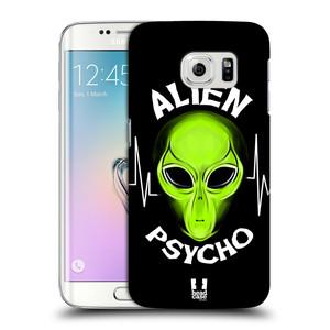 Plastové pouzdro na mobil Samsung Galaxy S6 Edge HEAD CASE ALIENS PSYCHO