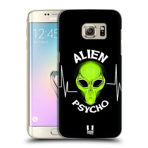 Plastové pouzdro na mobil Samsung Galaxy S7 Edge HEAD CASE ALIENS PSYCHO