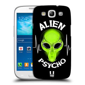 Plastové pouzdro na mobil Samsung Galaxy S III HEAD CASE ALIENS PSYCHO