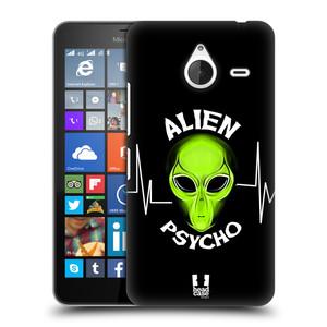 Plastové pouzdro na mobil Microsoft Lumia 640 XL HEAD CASE ALIENS PSYCHO