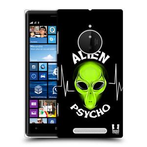 Plastové pouzdro na mobil Nokia Lumia 830 HEAD CASE ALIENS PSYCHO