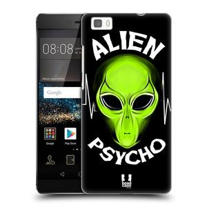 Plastové pouzdro na mobil Huawei P8 Lite HEAD CASE ALIENS PSYCHO