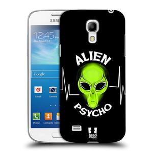 Plastové pouzdro na mobil Samsung Galaxy S4 Mini HEAD CASE ALIENS PSYCHO