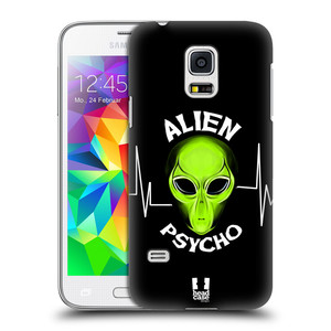 Plastové pouzdro na mobil Samsung Galaxy S5 Mini HEAD CASE ALIENS PSYCHO