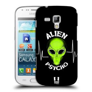 Plastové pouzdro na mobil Samsung Galaxy Trend HEAD CASE ALIENS PSYCHO