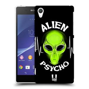Plastové pouzdro na mobil Sony Xperia Z2 D6503 HEAD CASE ALIENS PSYCHO