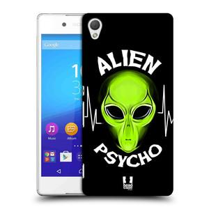 Plastové pouzdro na mobil Sony Xperia Z3+ (Plus) HEAD CASE ALIENS PSYCHO