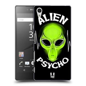Plastové pouzdro na mobil Sony Xperia Z5 HEAD CASE ALIENS PSYCHO