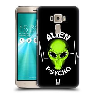 Plastové pouzdro na mobil Asus ZenFone 3 ZE520KL HEAD CASE ALIENS PSYCHO
