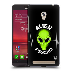 Plastové pouzdro na mobil Asus Zenfone 6 HEAD CASE ALIENS PSYCHO