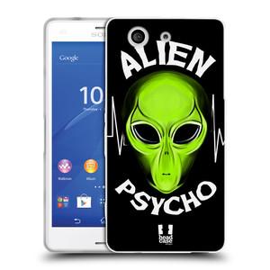 Silikonové pouzdro na mobil Sony Xperia Z3 Compact D5803 HEAD CASE ALIENS PSYCHO