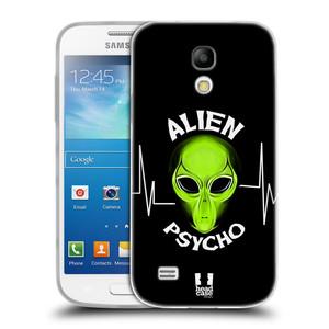 Silikonové pouzdro na mobil Samsung Galaxy S4 Mini HEAD CASE ALIENS PSYCHO