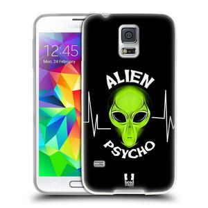 Silikonové pouzdro na mobil Samsung Galaxy S5 Neo HEAD CASE ALIENS PSYCHO