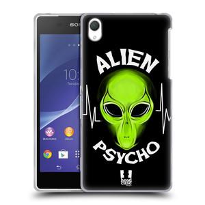 Silikonové pouzdro na mobil Sony Xperia Z2 D6503 HEAD CASE ALIENS PSYCHO