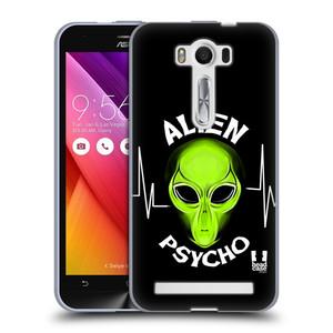 Silikonové pouzdro na mobil Asus ZenFone 2 Laser ZE500KL HEAD CASE ALIENS PSYCHO