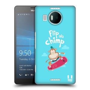 Plastové pouzdro na mobil Microsoft Lumia 950 XL HEAD CASE SPORTOVEC OPIČÁK