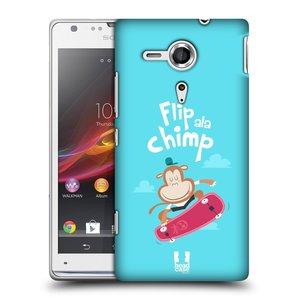 Plastové pouzdro na mobil Sony Xperia SP C5303 HEAD CASE SPORTOVEC OPIČÁK