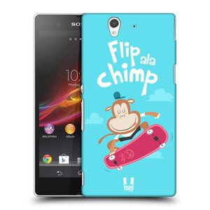 Plastové pouzdro na mobil Sony Xperia Z C6603 HEAD CASE SPORTOVEC OPIČÁK