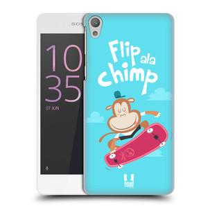 Plastové pouzdro na mobil Sony Xperia E5 HEAD CASE SPORTOVEC OPIČÁK