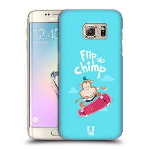 Plastové pouzdro na mobil Samsung Galaxy S7 Edge HEAD CASE SPORTOVEC OPIČÁK