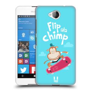Plastové pouzdro na mobil Microsoft Lumia 650 HEAD CASE SPORTOVEC OPIČÁK