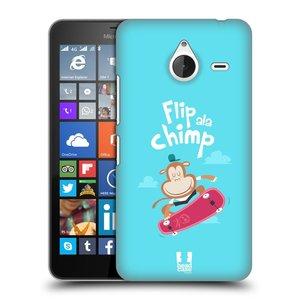 Plastové pouzdro na mobil Microsoft Lumia 640 XL HEAD CASE SPORTOVEC OPIČÁK