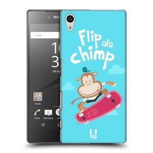 Plastové pouzdro na mobil Sony Xperia Z5 HEAD CASE SPORTOVEC OPIČÁK