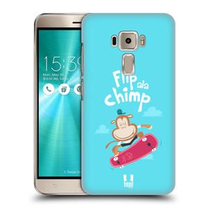 Plastové pouzdro na mobil Asus ZenFone 3 ZE520KL HEAD CASE SPORTOVEC OPIČÁK
