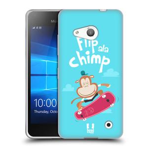 Silikonové pouzdro na mobil Microsoft Lumia 550 HEAD CASE SPORTOVEC OPIČÁK