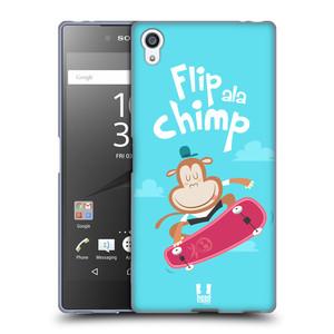 Silikonové pouzdro na mobil Sony Xperia Z5 Premium HEAD CASE SPORTOVEC OPIČÁK
