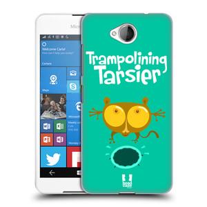 Plastové pouzdro na mobil Microsoft Lumia 650 HEAD CASE SPORTOVEC NÁRTOUN