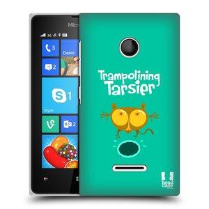 Plastové pouzdro na mobil Microsoft Lumia 435 HEAD CASE SPORTOVEC NÁRTOUN
