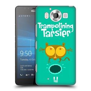 Plastové pouzdro na mobil Microsoft Lumia 950 HEAD CASE SPORTOVEC NÁRTOUN