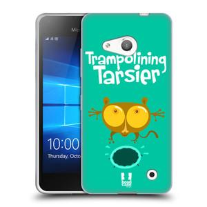 Silikonové pouzdro na mobil Microsoft Lumia 550 HEAD CASE SPORTOVEC NÁRTOUN