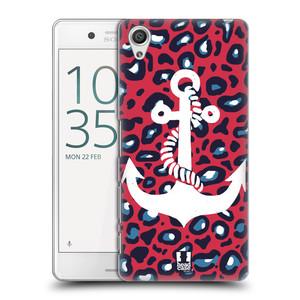 Plastové pouzdro na mobil Sony Xperia X Performance HEAD CASE KOTVA LEOPARDÍ
