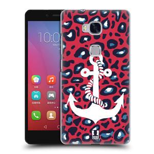 Plastové pouzdro na mobil Honor 5X HEAD CASE KOTVA LEOPARDÍ