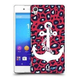 Plastové pouzdro na mobil Sony Xperia Z3+ (Plus) HEAD CASE KOTVA LEOPARDÍ