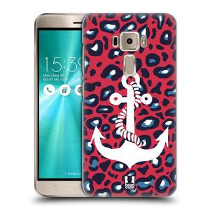 Plastové pouzdro na mobil Asus ZenFone 3 ZE520KL HEAD CASE KOTVA LEOPARDÍ