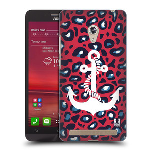 Plastové pouzdro na mobil Asus Zenfone 6 HEAD CASE KOTVA LEOPARDÍ
