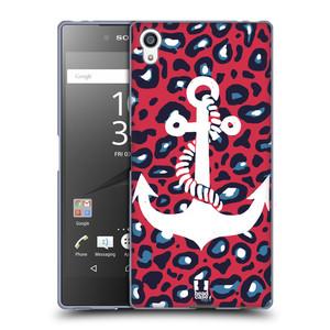 Silikonové pouzdro na mobil Sony Xperia Z5 Premium HEAD CASE KOTVA LEOPARDÍ