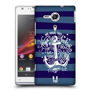 Plastové pouzdro na mobil Sony Xperia SP C5303 HEAD CASE KOTVA HOPE
