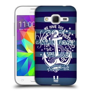 Plastové pouzdro na mobil Samsung Galaxy Core Prime LTE HEAD CASE KOTVA HOPE