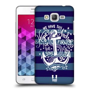 Plastové pouzdro na mobil Samsung Galaxy Grand Prime HEAD CASE KOTVA HOPE