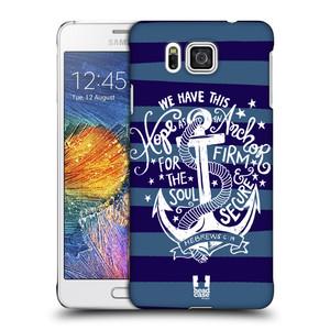 Plastové pouzdro na mobil Samsung Galaxy Alpha HEAD CASE KOTVA HOPE