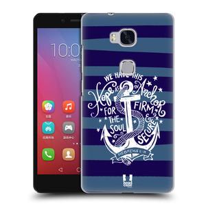 Plastové pouzdro na mobil Honor 5X HEAD CASE KOTVA HOPE