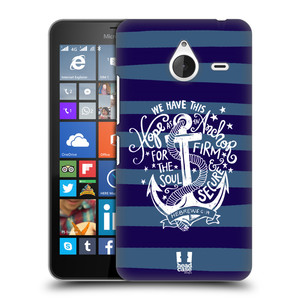Plastové pouzdro na mobil Microsoft Lumia 640 XL HEAD CASE KOTVA HOPE