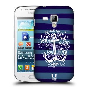 Plastové pouzdro na mobil Samsung Galaxy Trend HEAD CASE KOTVA HOPE