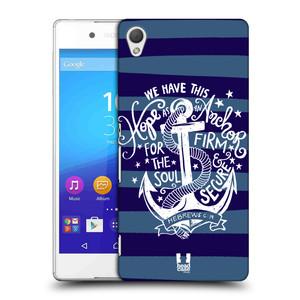 Plastové pouzdro na mobil Sony Xperia Z3+ (Plus) HEAD CASE KOTVA HOPE